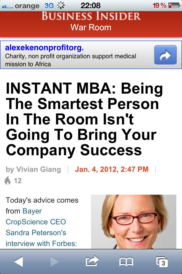Leadership evolutiv - Business Insider
