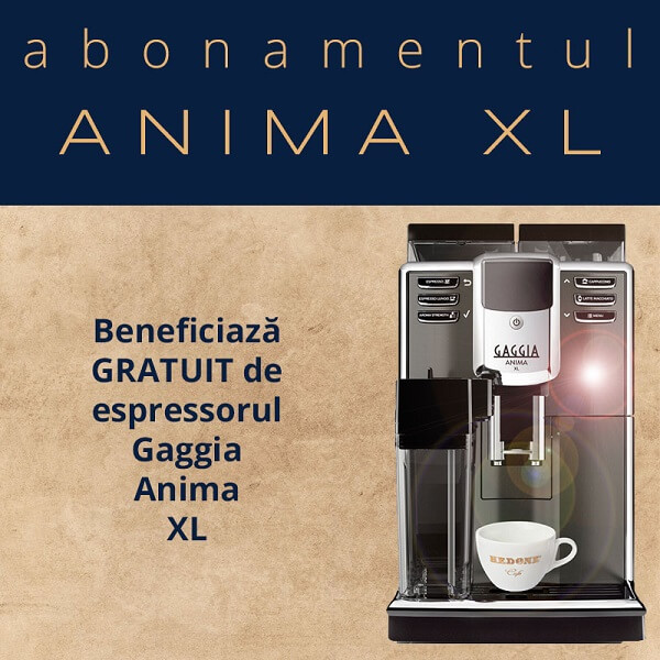 Abonament cafea anima xl HEDONE