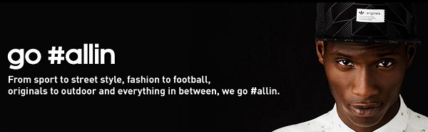 Adidas, Go #AlIn