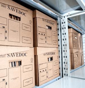 Servicii profesionale de arhivare Savedoc