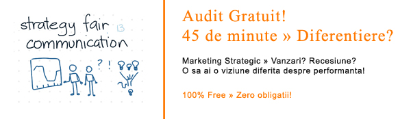 Audit Gratuit: Marketing Strategic, Strategie si Management in Vanzari: