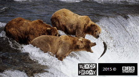 Black Friday Brown Bear B2B Strategy