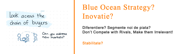 Blue Ocean Strategy, stabilitate in recesiune?