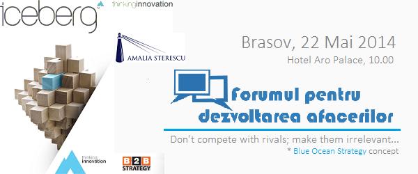 Forumul pentru dezvoltarea afacerilor 2014 #Brasov: