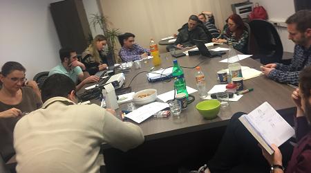 Brainstorming echipa Spective Surveillance training B2B