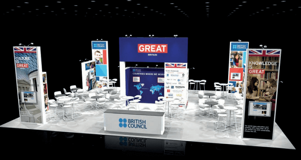 GREAT Britain Champaign * Bristish Council Stand Expo Concept * Nation Brands