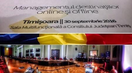 Conferinţă managementul destinaţiilor online şi offline ANT
