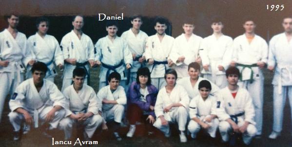 Daniel Rosca si Avram Iancu Canalul Manecii 1995