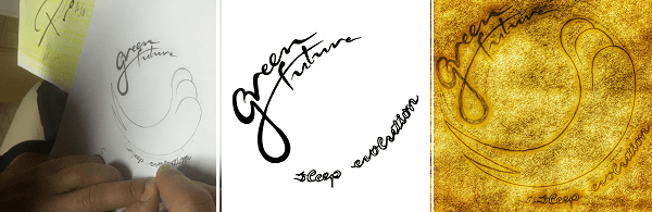 Design handmade logo B2B