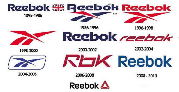 Evolutie Logo Reebok