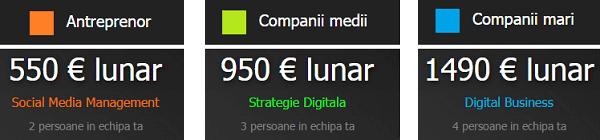 Externalizare Departament Marketing, Strategie Digitală