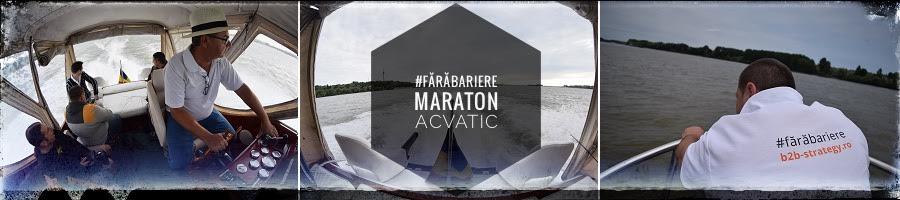 #fărăbariere * maraton acvatic studiu de caz Social Media