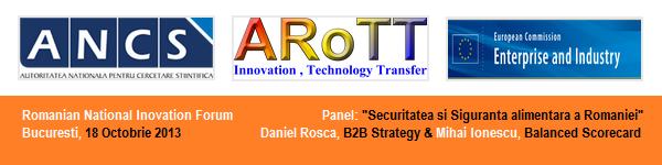 Mihai Ionescu, Balanced Scorecard & Daniel Rosca, B2B Strategy. Siguranta Alimentara a Romaniei