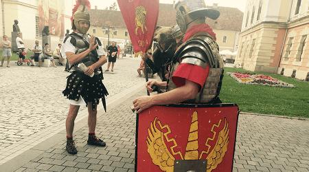 Hadrian, Caracalla, Severus, împăraţii care au vizitat Apulum, Daci vs Romani