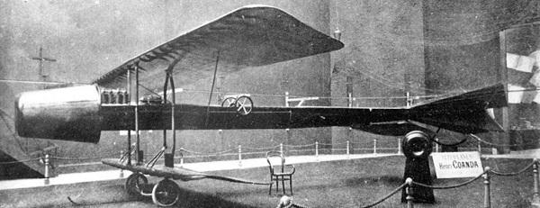 Henri Coanda, avion cu reactie. 1910