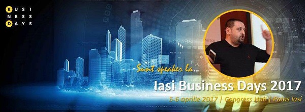 Iasi Business Days Speaker Daniel Rosca