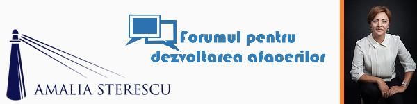 Interviu Forum Dezvoltare Afaceri Brasov. Amalia-Sterescu
