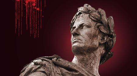 Iulius Caesar face reconstruction using AI