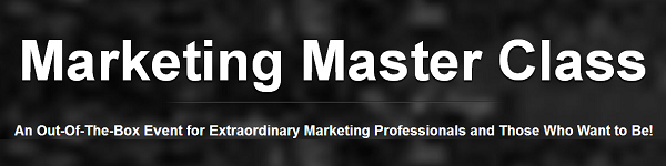 Marketing Master Class Istanbul