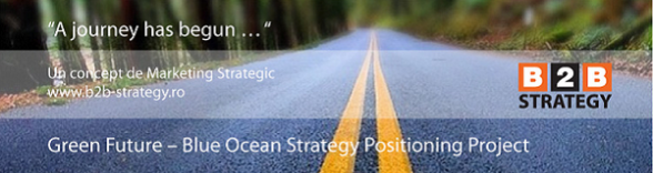 Strategie Dezvoltare 2013. Pozitionare Blue Ocean Strategy