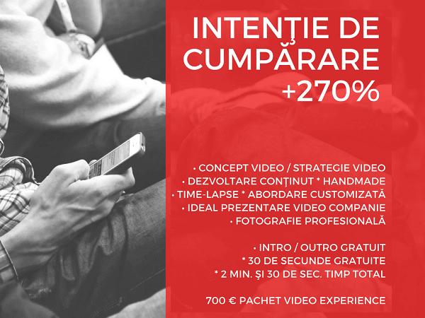 Promoţie video / parametrii brand: