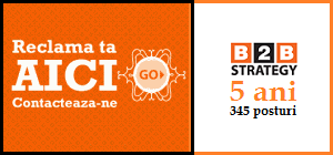 Reclama advertorial B2B Strategy Timisoara