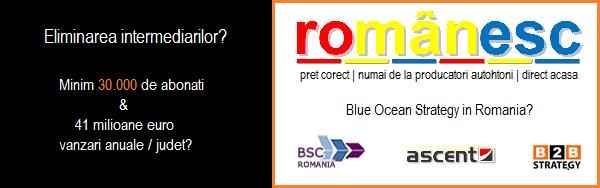 Competitie B2C, Food, FMCG, Producatori Romani