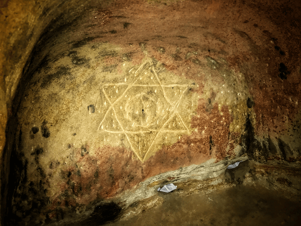 "The Origin of the ""Star of David"" Constantin Olariu Arimin"