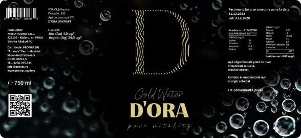 reBranding D'ORA packaging design PRONAT