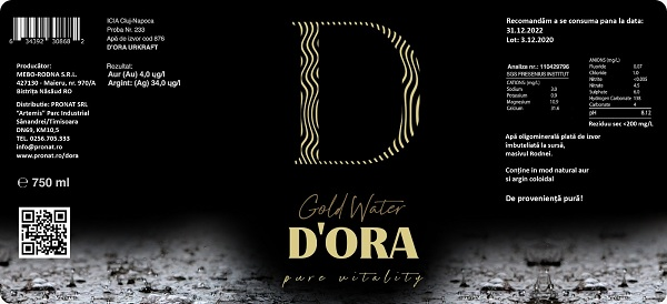 reBranding D'ORA packaging design