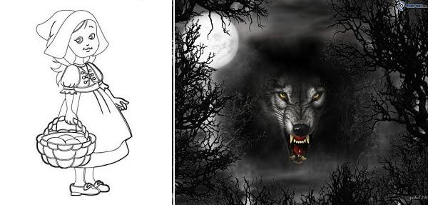 şi lupul cel nesătul