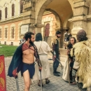 6 Radacini istorice Cetate Alba Iulia Daci Imbracaminte Port Romani