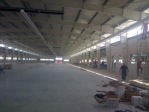 Hala de productie Barrier Romania