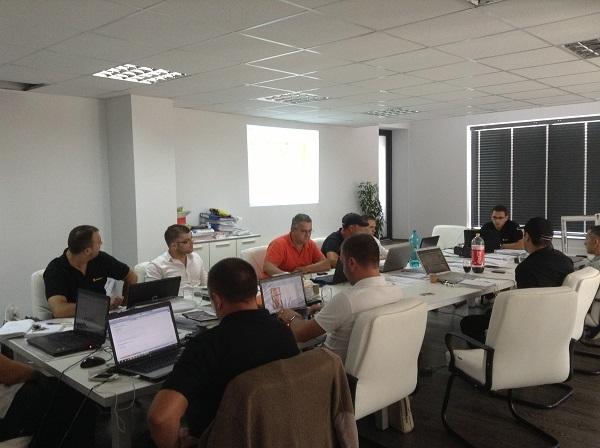 Sala Training Barrier Romania