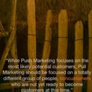 Pull Marketing vs Push Marketing. Marketing 3.0?