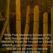 Pull Marketing vs Push Marketing. Marketing 3.0?