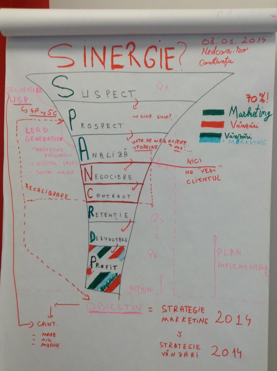 Procese de Management & Strategie in Vanzari B2B