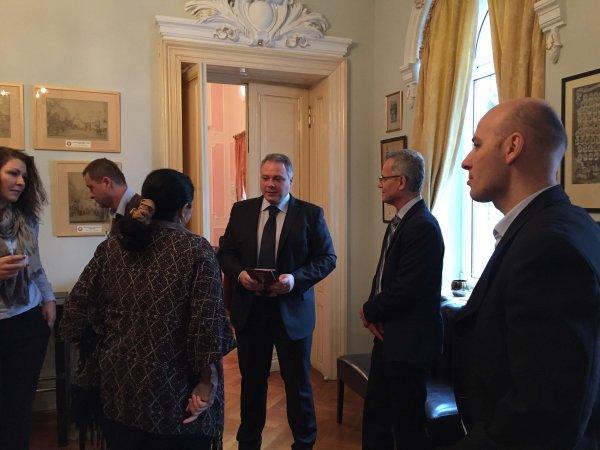 Otilia Magheru, Dragos Slavescu, Costin Lianu Workshop Strategie / Business Networking