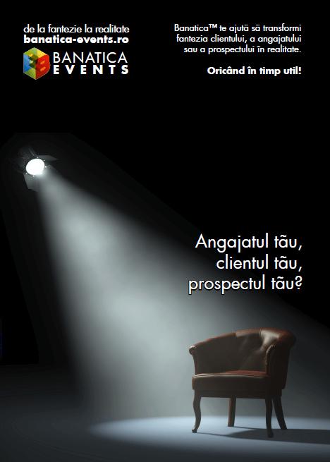Branding Banatica Events™ Print Flyer Fata