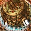18 Pictura turla biserica Voronet zoom