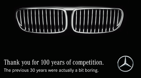 100 years bmw vs mercedes