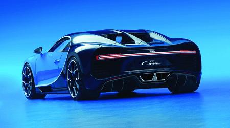 Bugatti Chiron vs RIMAC
