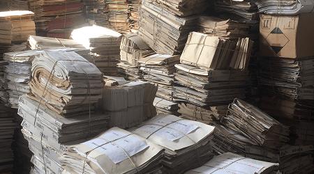 Cum arata o arhiva inainte de arhivare