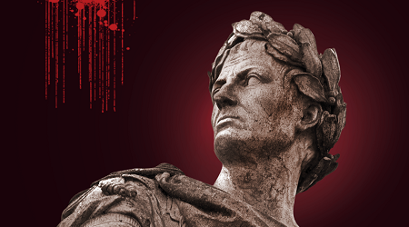 Iulius Caesar face reconstruction using AI