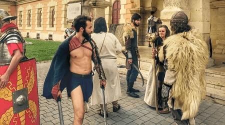 Lupte intre daci si romani