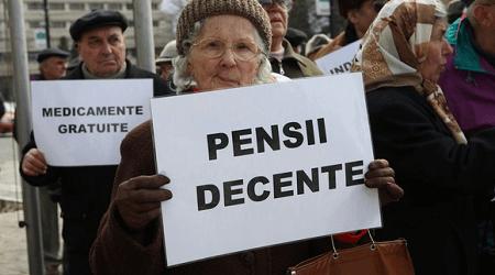 Situatia pensionarilor din Romania