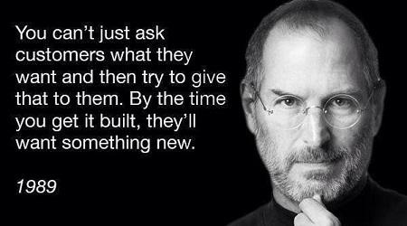 Steve Jobs vs Management de produs