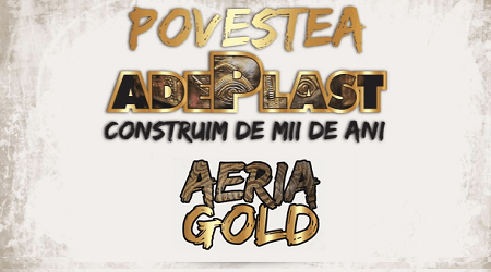 Strategie Marketing Constructii Adeplast AERIA GOLD Design de Ambalaj